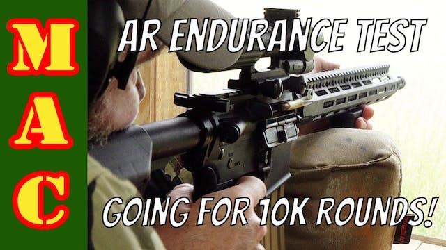 AR15 hasnt been cleaned for 7000 roun...