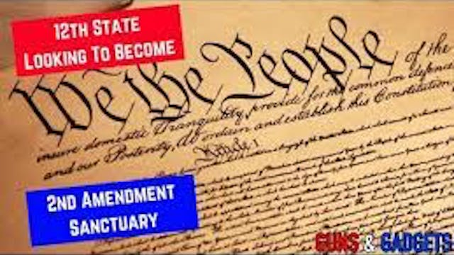 12th State Looks To Become 2A Sanctua...