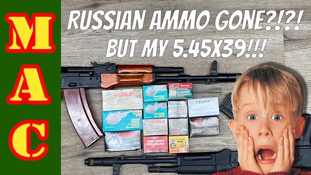 Russian ammo gone_ WAIT! Don't sell t...
