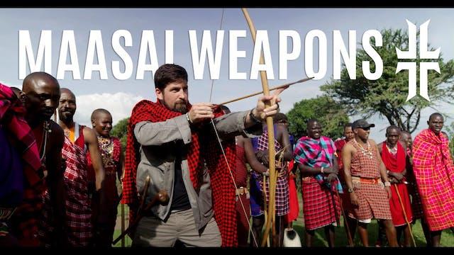 Maasai Weapon Training