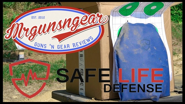 Safe Life Defense FRAS Rifle Rated Armor Plate
