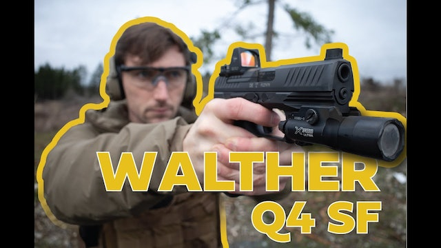 The most underrated handgun?! Walther Q4 SF