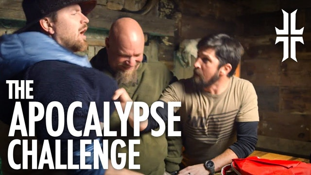 The Apocalypse CHALLENGE!! John vs. Evan vs. James