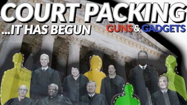 Supreme Court Packing Process Has Begun