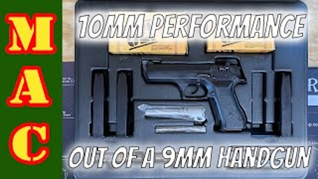 Turning your 9mm into a 10mm, the old fashioned way.