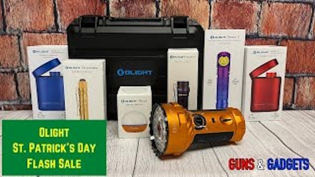 Olight St  Patrick's Day Flash Sale