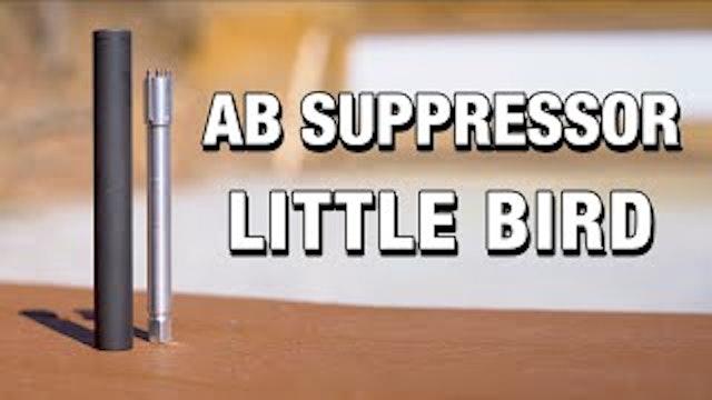 Adjustable 22lr Suppressors AB Suppressor Little BirdMELB Review