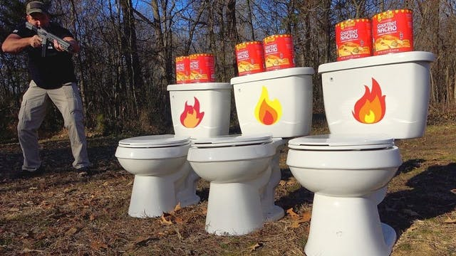 Spicy Toilets 🔥 (Full Auto Friday)