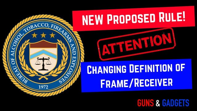 UPDATE ATF Comment Period For FramesR...