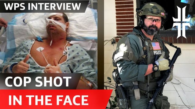This Cop was Shot in the Face