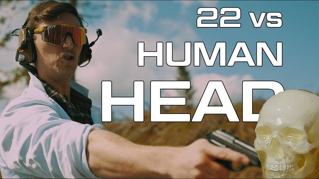 22 vs Human Head
