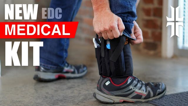 The Very Best EDC ANKLE Medical Kit