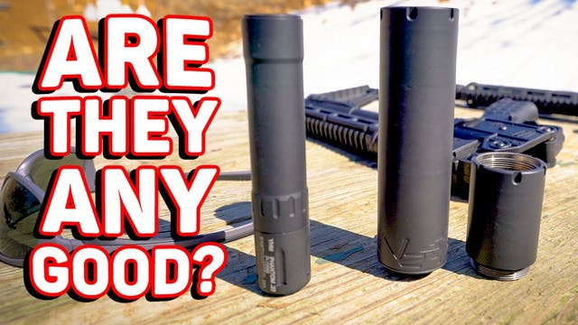 YHM DO-IT-ALL and 22 Silencers! - QGS!