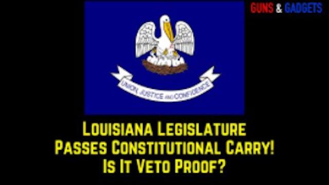 Louisiana Legislature Passes Constitu...