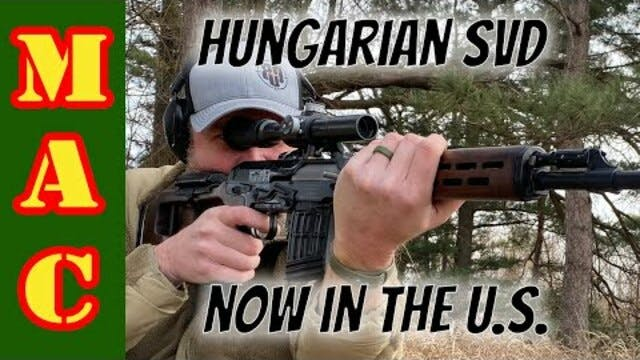 NEW Hungarian FEG SVD rifle - it's here!