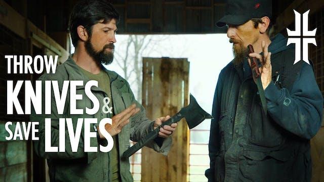 Pro Knife Thrower Jason Johnson Teach...
