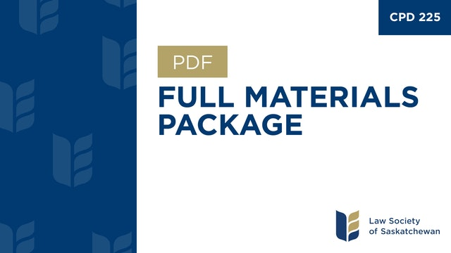 CPD 225 - Current Trends in Professional Regulation - Program & Materials.pdf