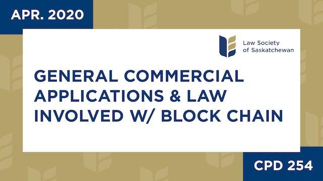 CPD 254 - General Commercial Applicat...