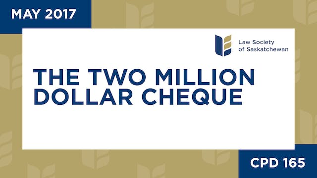 CPD 165 - The Two Million Dollar Cheq...