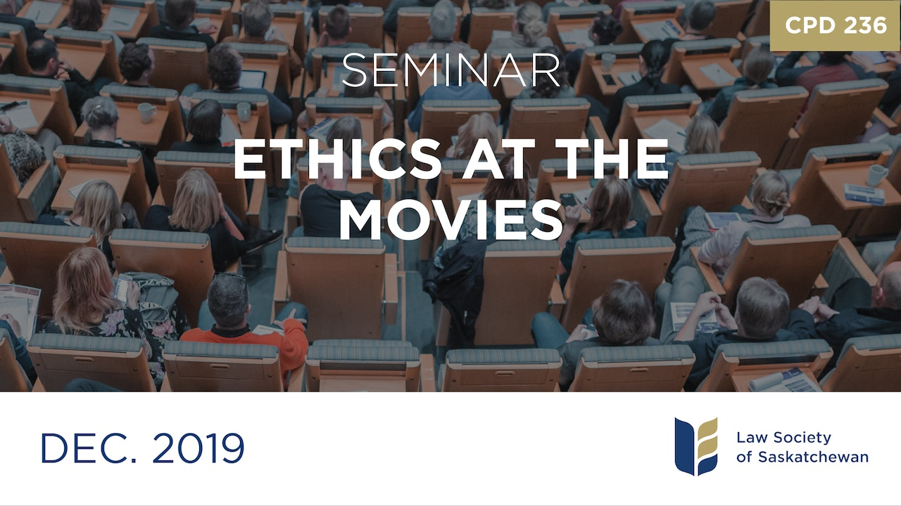 CPD 236 - Ethics with Reel Time CLE