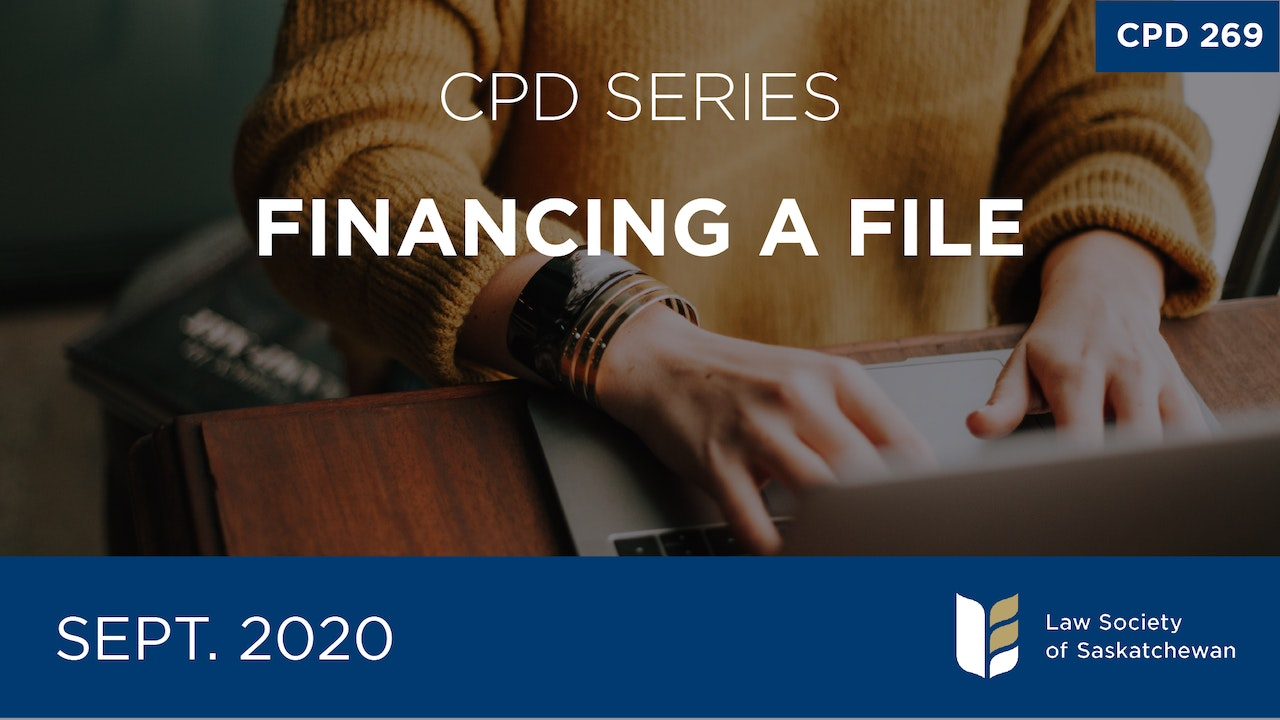 CPD 269 - Financing a File Series