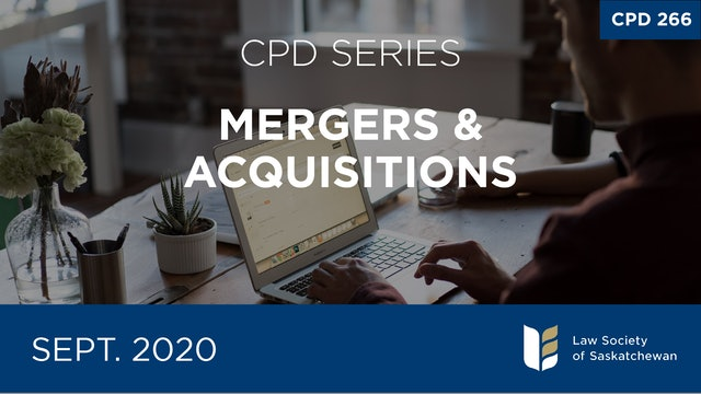 CPD 266 - Mergers & Acquisitions Series