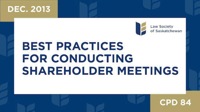CPD 84 - Best Practices for Conductin...