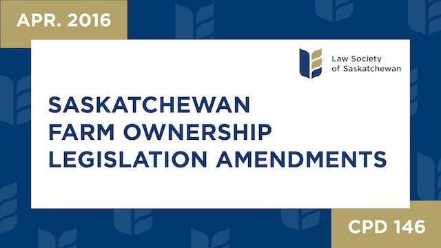 CPD 146 Saskatchewan Farm Ownership L...