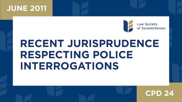 CPD 24 Recent Jurisprudence Respectin...