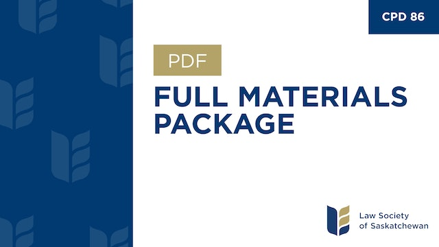 CPD 86 - Wills, Estates, and Trusts - Program & Materials Package.pdf
