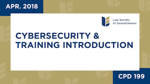 CPD 199 - Cybersecurity Webinar and T...