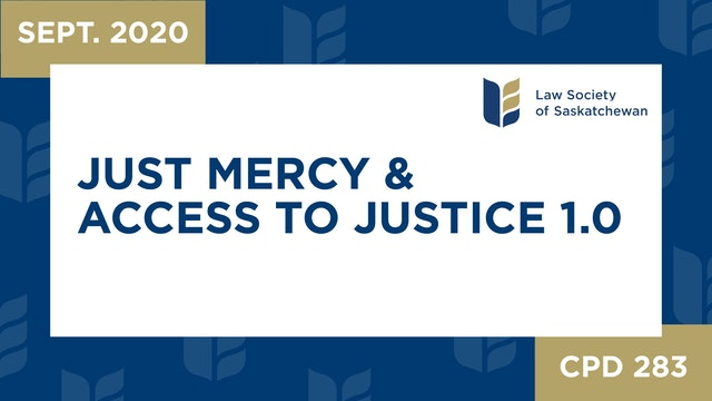 CPD 283 - Just Mercy 1.0