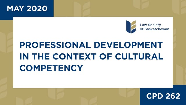 CPD 262 - CPD in the Context of Cultu...