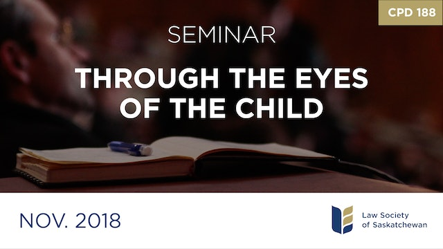 CPD 188 - Through the Eyes of the Child