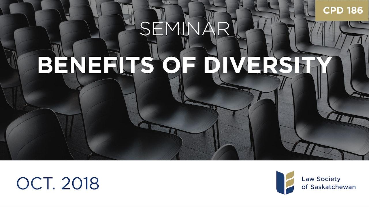 CPD 186 - Benefits of Diversity