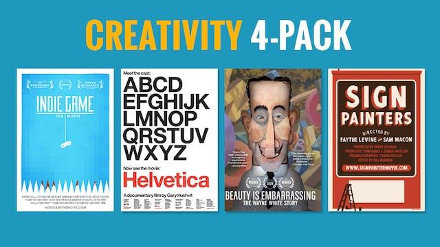 Creativity 4-Pack: $10