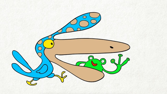 Doodle's House S1E11 - Hungry Bird