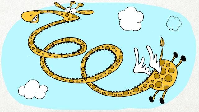 Doodle's House S1E9 - Flying Giraffe