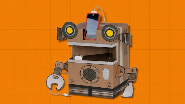 Box Yourself S1E12 - Robot Phone Charger