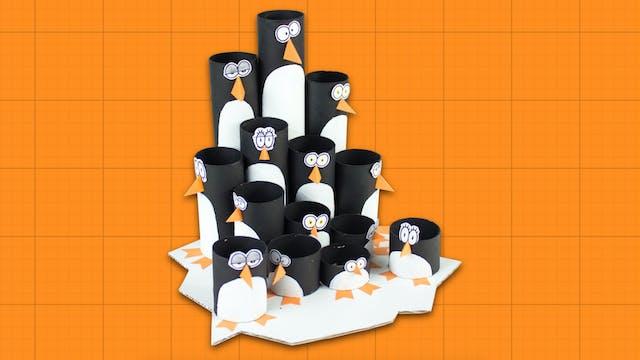 Box Minis S2E12 - Penguin Colony Pencil Organizer