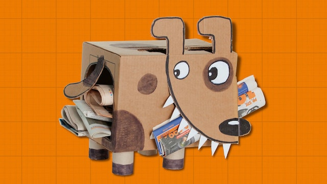 Box Yourself S1E2 - Newspaper Puppy