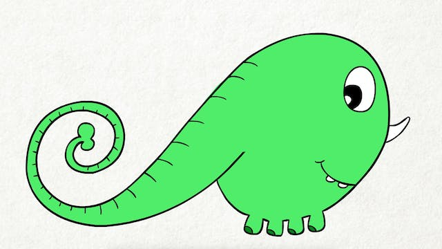 Doodle's House S1E2 - From Elephant To Lizard