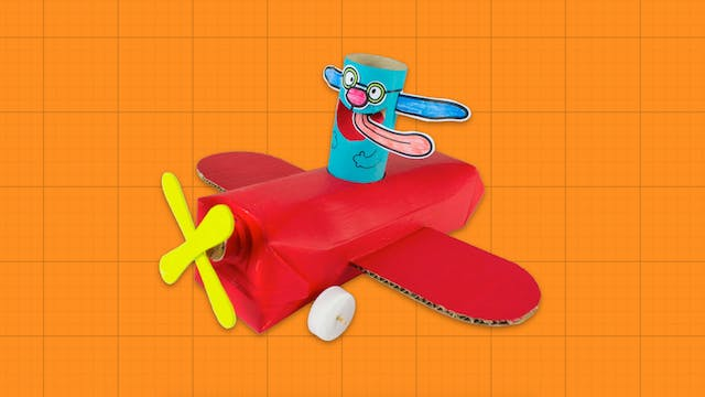 Box Minis S2E20 - Red Aeroplane With Looney Lupin