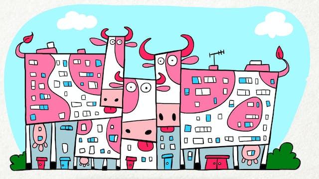 Doodle's House S1E6 - Cow Building