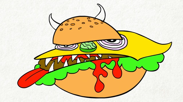 Doodle's House S1E13 - Monsterburger