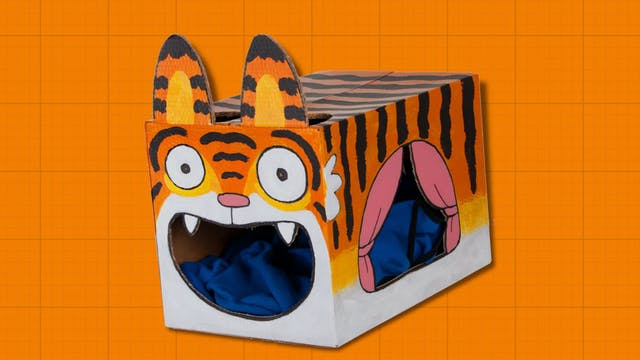 Box Yourself S1E3 - Tiger Cat House