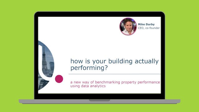How is your building actually perform...