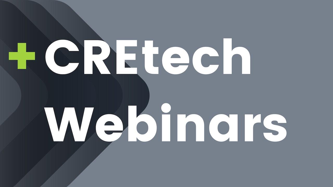 CREtech Webinars
