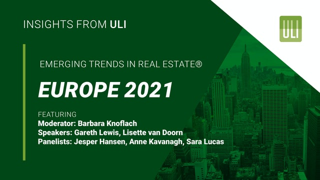 Emerging Trends in Real Estate® Europe 2021