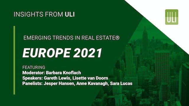 Emerging Trends in Real Estate® Europ...